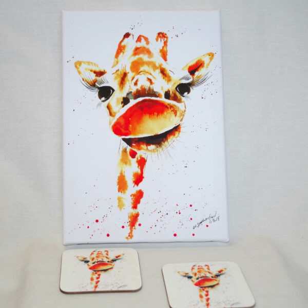 George the Giraffe - local artist